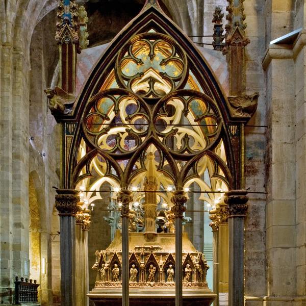 La tomba de Pere II el Gran (Autor: Pepo Segura)