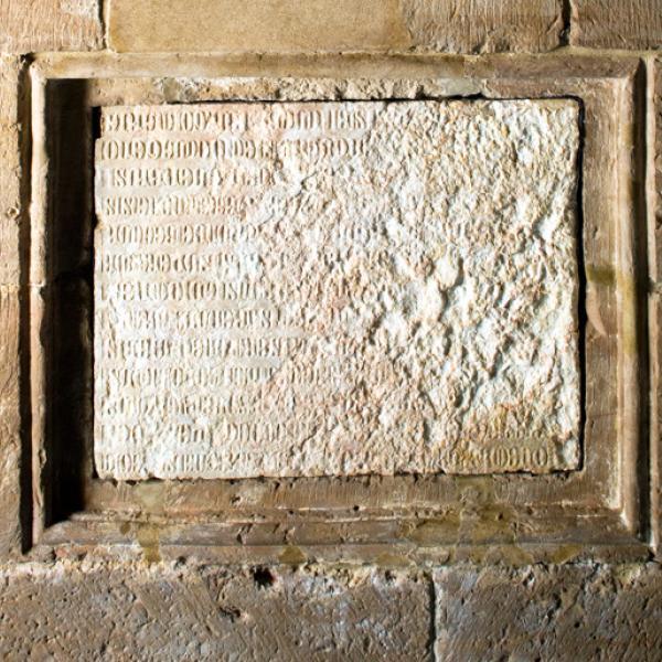 Epitafi de la tomba de Pere el Gran (Autor: Pepo Segura)