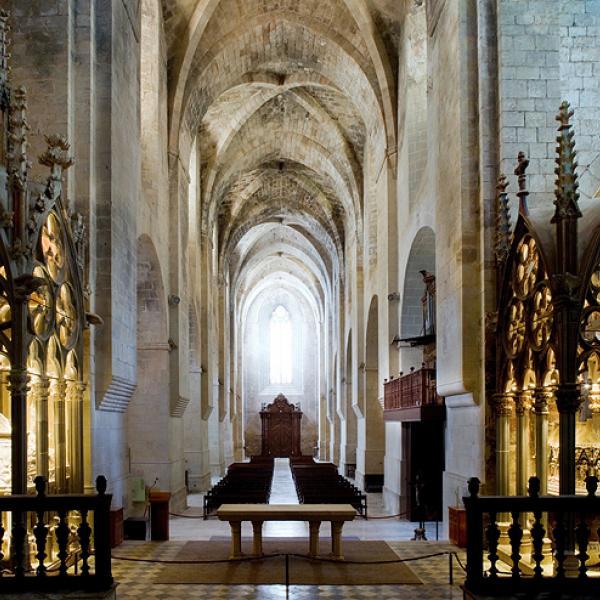 El panteó reial de Santes Creus avui, un cop finalitzat l'estudi i la restauració (Autor: Pepo Segura)