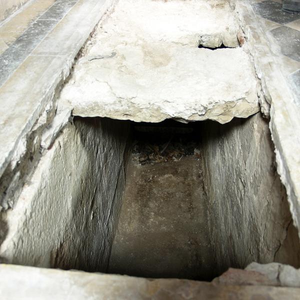 Interior del sepulcre (Autor: Maria Pujals)